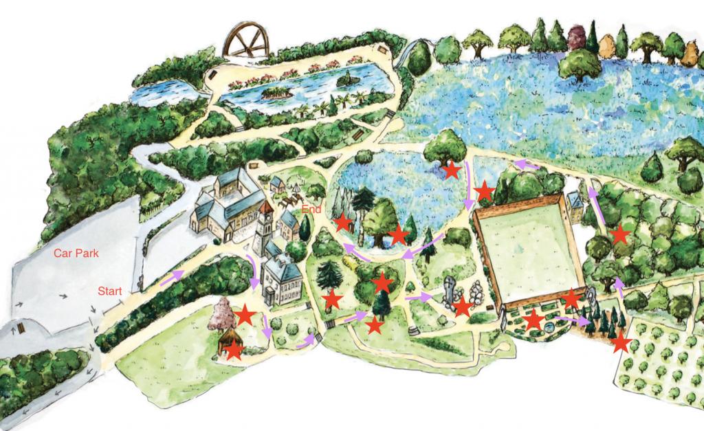 Fairy Trail Map